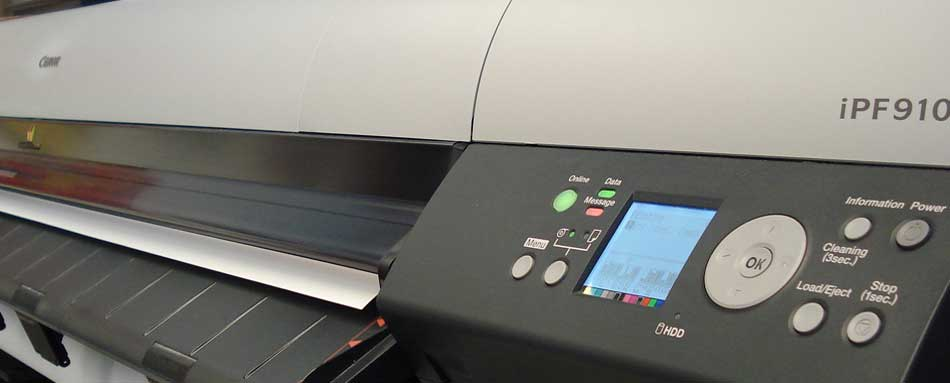 one of our giclee printers - Canon
